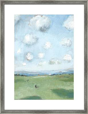 Into The Distance Part Eight Framed Print by Alan Daysh