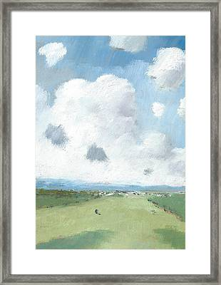 Into The Distance Part Five Framed Print by Alan Daysh