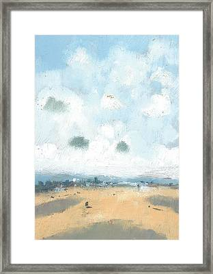 Into The Distance Part Four Framed Print by Alan Daysh