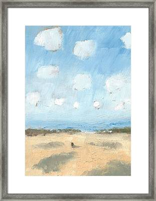 Into The Distance Part Nine Framed Print by Alan Daysh