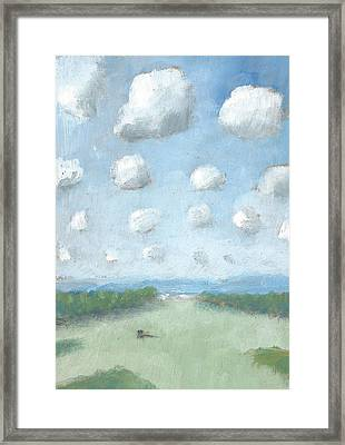 Into The Distance Part One Framed Print by Alan Daysh