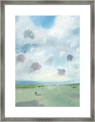 Into The Distance Part Seven Framed Print by Alan Daysh