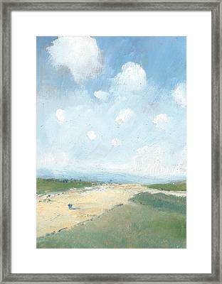 Into The Distance Part Six Framed Print by Alan Daysh