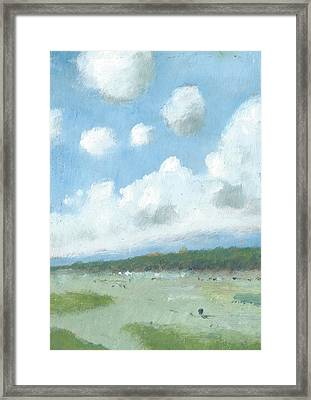 Into The Distance Part Three Framed Print by Alan Daysh