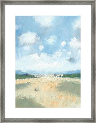 Into The Distance Part Two Framed Print by Alan Daysh