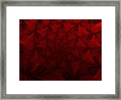 Framed Print featuring the digital art Into The Dream by Elizabeth McTaggart