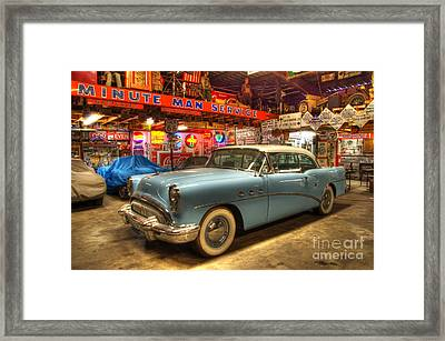 Into The Dreamtime Route 66 Framed Print by Bob Christopher