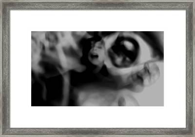 Into The Fear Factory Framed Print by Jessica Shelton