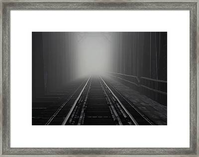 Into The Fog Framed Print by Andrea Galiffi