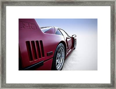 Into The Great Wide Open Framed Print by Douglas Pittman