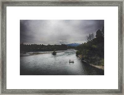 Into The Great Wide Open Framed Print