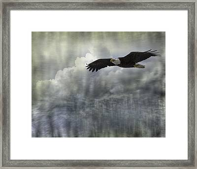 Into The Heavens Framed Print by Thomas Young
