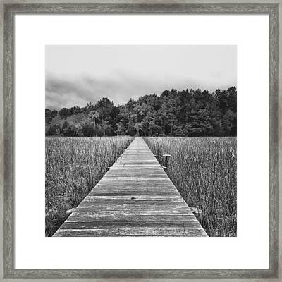 The Other Side Framed Print by Drew Castelhano