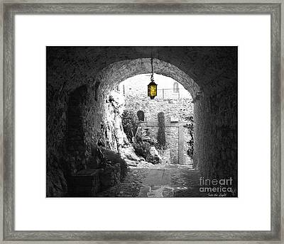 Into The Light 2 Framed Print by Victoria Harrington