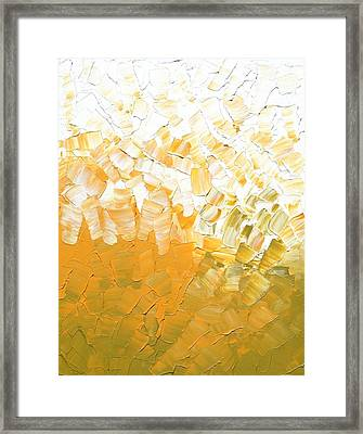 Framed Print featuring the painting Into The Light by Linda Bailey