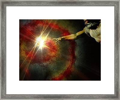 Into The Light Framed Print by Reno Graf von Buckenberg