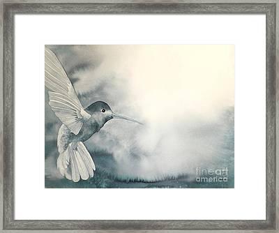 Into The Light Framed Print by Robert Hooper