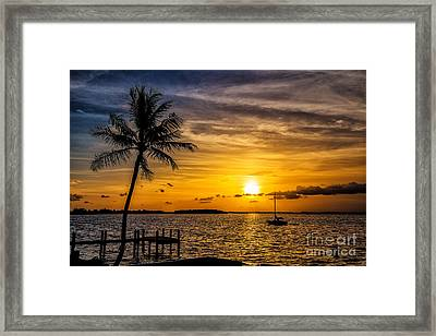 Into The Light We Are One Framed Print by Rene Triay Photography