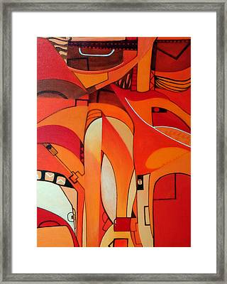 Into The Middle Framed Print by Dawson Taylor