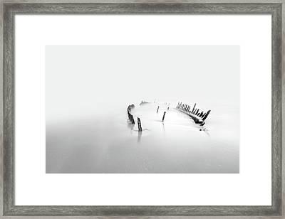 Into The Mist Framed Print by Mel Brackstone