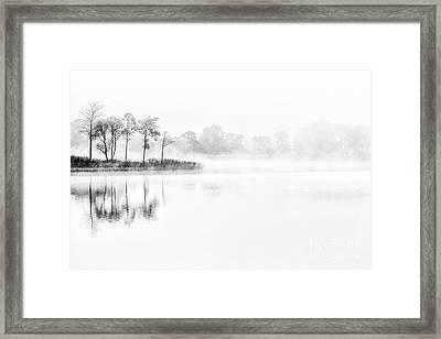 Into The Mist Framed Print by Richard Burdon