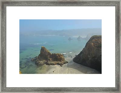 Into The Mystic Framed Print