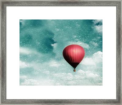 Into The Night Framed Print by Amy Tyler