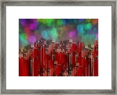 Into The Night Sky Framed Print by Jack Zulli