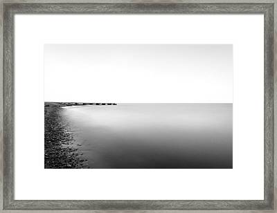 Into The Nothing Framed Print by CJ Schmit