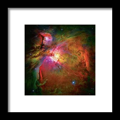 Nebula Framed Prints