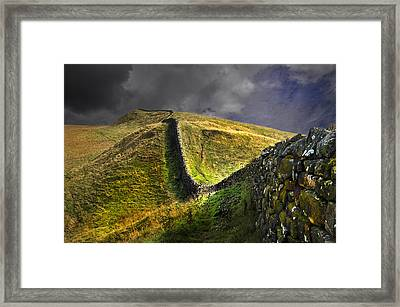 Into The Past Framed Print