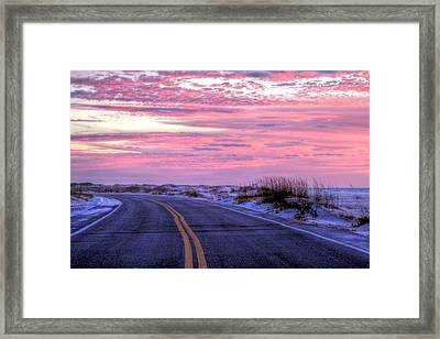Into The Pink Framed Print by JC Findley