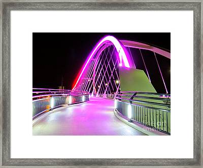Into The Pink Framed Print by Putterhug  Studio