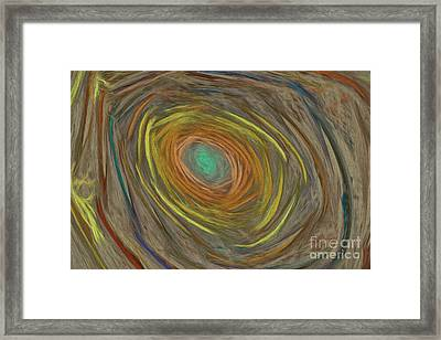 Into The Rabbit Hole Framed Print