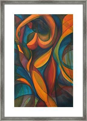 Into The Reeds Framed Print by Trina Teele