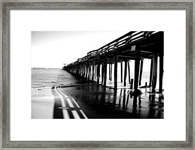 Into The Sea Framed Print