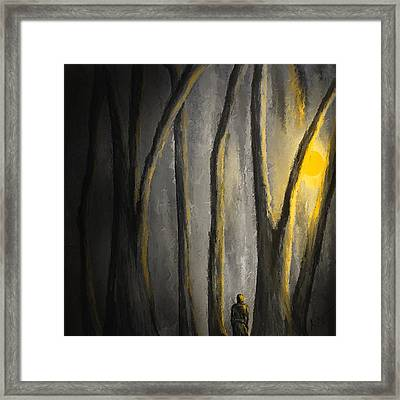 Into The Serene Framed Print