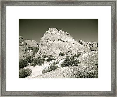 Into The Silence Framed Print by Gem S Visionary