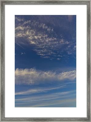 Into The Sky Framed Print by David Pyatt