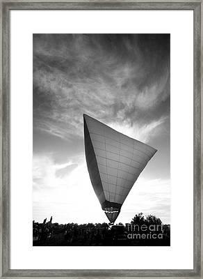Into The Sky Framed Print by Jennifer Mecca