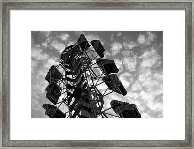 Into The Sky Framed Print by Joe Kozlowski