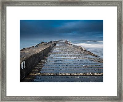 Into The Storm Framed Print by Greg Nyquist