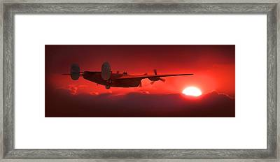 Into The Sun Framed Print by Mike McGlothlen