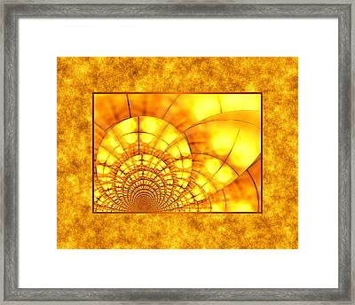 Into The Sun Framed Print by Wendy J St Christopher