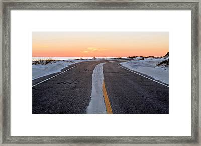 Into The Sunset Framed Print by JC Findley