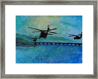 Into The Sunset Framed Print by Jill Jacobs