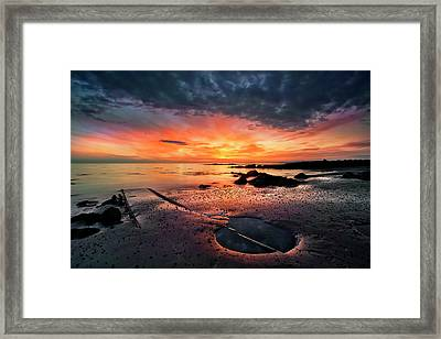 Into The Sunset Framed Print by ?orsteinn H. Ingibergsson