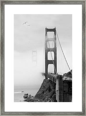 Into The Unknown Framed Print by Mike McGlothlen
