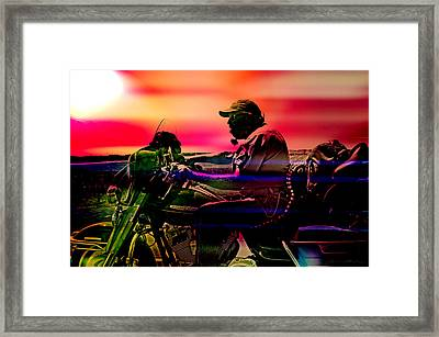 Into The Unknown  Framed Print by Off The Beaten Path Photography - Andrew Alexander
