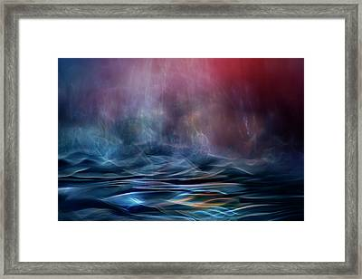 Into The Unknown Framed Print